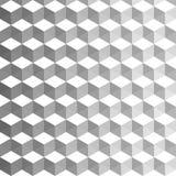 Fondo cúbico abstracto Decoración geométrica con colores mezclados libre illustration