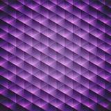Fondo cúbico violeta geométrico abstracto ilustración del vector