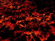 Fondo caldo del modello dell'estratto del fuoco della lava di arte illustrazione vettoriale