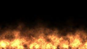 fondo caldo della fiamma dei fuochi d'artificio delle particelle del fuoco 4k archivi video
