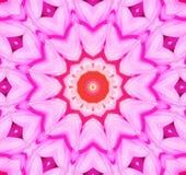Fondo caleidoscópico de la flor Imagenes de archivo