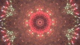 Fondo caleidoscópico del fractal de VJ libre illustration