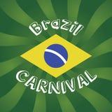 Fondo carnaval del Brasil Fotografía de archivo