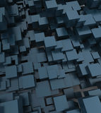 Fondo cúbico abstracto Imagen de archivo libre de regalías