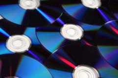 fondo cd del dvd Fotografía de archivo