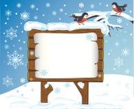 Fondo celebrador del invierno Foto de archivo libre de regalías