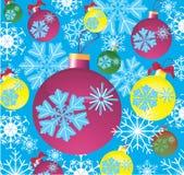 Fondo celebrador del invierno Imagenes de archivo