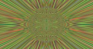 Fondo central abstracto del fractal de la flor/de la estrella con un modelo lentamente de divergencia detallado del centro ilustración del vector