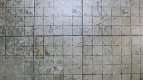 Fondo ceramico al suolo sporco Fotografie Stock Libere da Diritti