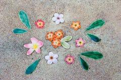 Fondo ceramico del modello di fiore immagini stock