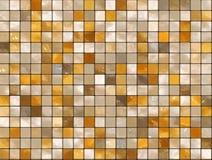 Fondo ceramico della parete - mosaico Fotografia Stock Libera da Diritti