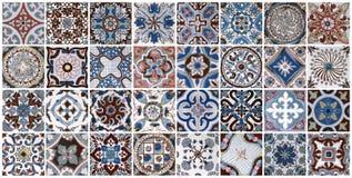 Fondo ceramico delle mattonelle della parete fotografia stock