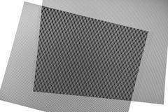 Fondo checkered blanco y negro Foto de archivo