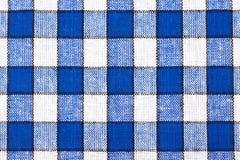 Fondo Checkered de la materia textil Imagen de archivo