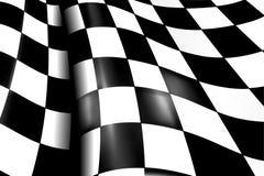 Fondo Checkered de los deportes Fotografía de archivo