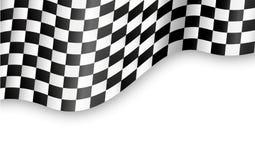 Fondo Checkered della bandiera Fotografia Stock Libera da Diritti