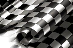 Fondo Checkered horizontal Imagen de archivo