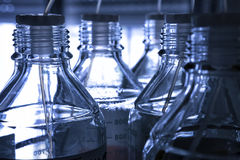 Fondo chimico del laboratorio immagine stock