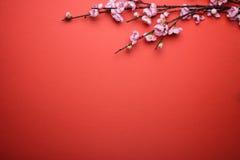 Fondo chino del Año Nuevo Imagenes de archivo