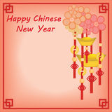 Fondo chino del Año Nuevo Fotos de archivo libres de regalías