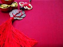 Fondo chino del Año Nuevo con el espacio de la copia Foto de archivo libre de regalías