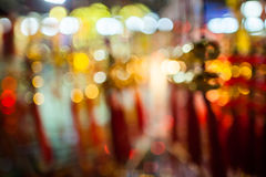 Fondo chino del bokeh del Año Nuevo Fotos de archivo