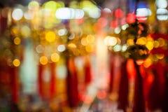 Fondo chino del bokeh del Año Nuevo Imágenes de archivo libres de regalías