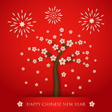 Fondo chino del cerabration del Año Nuevo