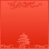 Fondo chino del templo