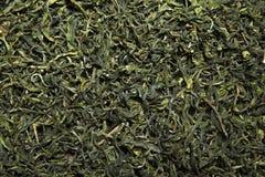 Fondo chino verde del té nadie imagenes de archivo