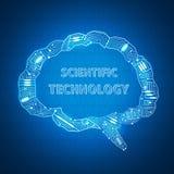 Fondo científico libre illustration