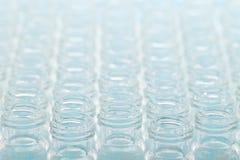 Fondo científico - frascos de cristal Imagenes de archivo