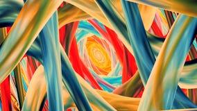 Fondo cinemático colorido ilustración del vector