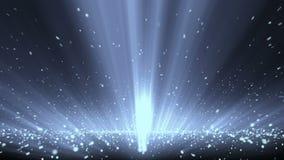 Fondo cinematografico di Loopable dei raggi 5 illustrazione vettoriale