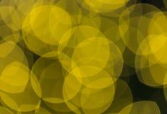Fondo circular abstracto del bokeh de la luz de la Navidad Foto de archivo libre de regalías