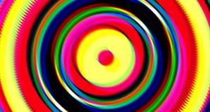 Fondo circular del extracto de la forma del cambio de la inclinación de la interferencia Foto de archivo libre de regalías