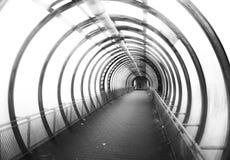 Fondo circular del túnel del Cyberpunk Imagen de archivo
