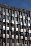 Fondo clásico del edificio de oficinas Fotografía de archivo