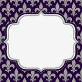 Fondo clásico púrpura Imágenes de archivo libres de regalías