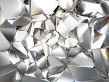 Fondo claro abstracto del cristal ilustración del vector