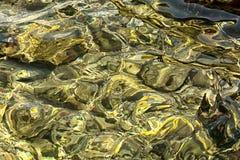 Fondo claro de agua de mar Fotografía de archivo