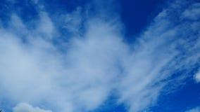 Fondo claro de cielo azul Imagen de archivo libre de regalías