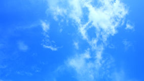 Fondo claro de cielo azul Fotografía de archivo libre de regalías