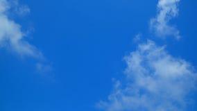 Fondo claro de cielo azul Fotos de archivo