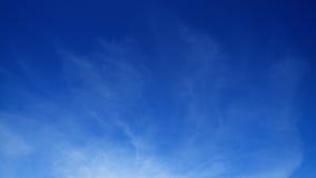 Fondo claro de cielo azul Foto de archivo libre de regalías
