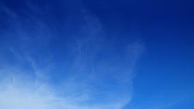 Fondo claro de cielo azul Fotografía de archivo
