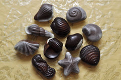 Fondo clasificado de los caramelos Imagen de archivo