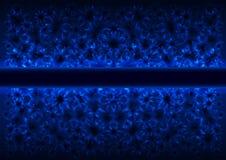 Fondo claveteado azul ilustración del vector