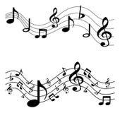 Fondo cobarde de la música Fotos de archivo libres de regalías