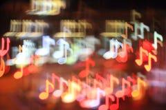 Fondo cobarde de la música Fotos de archivo